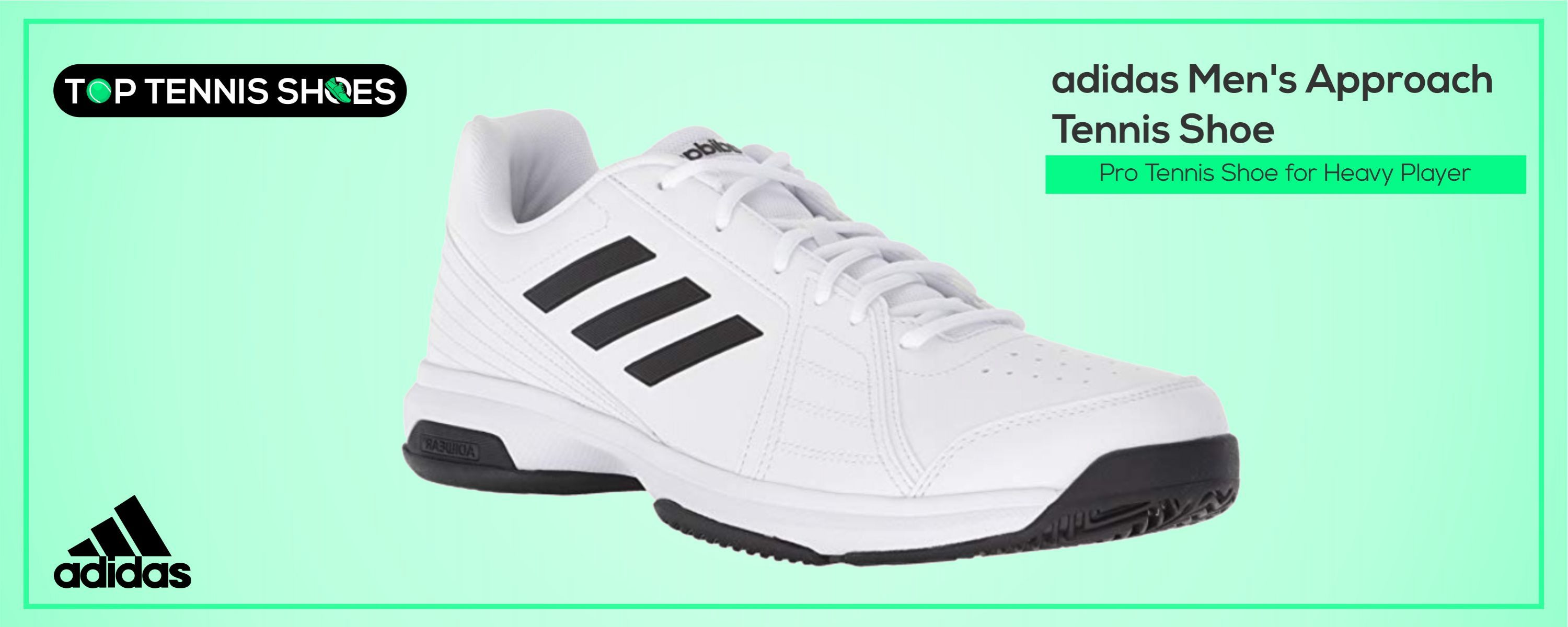 adidas tennis shoes for heavy players